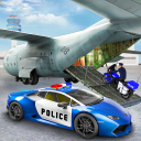 US Police Transporter Plane Simulator
