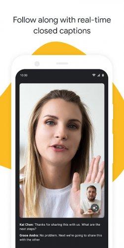 Google Meet screenshot 13
