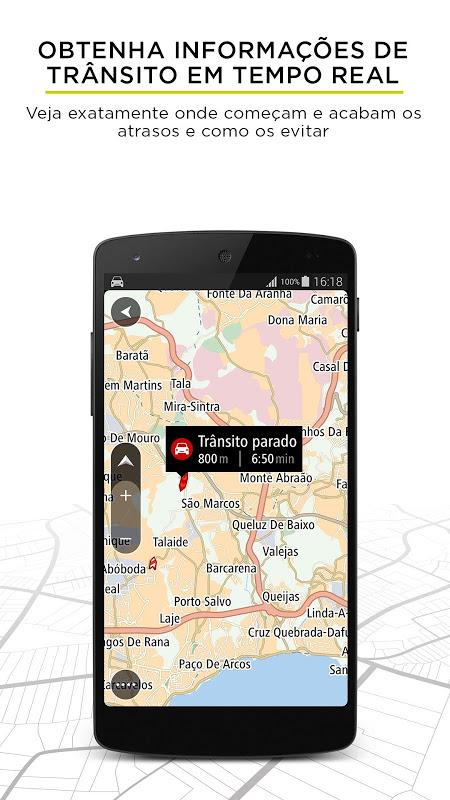 TomTom Navegação GPS - Trânsito em Tempo Real screenshot 2