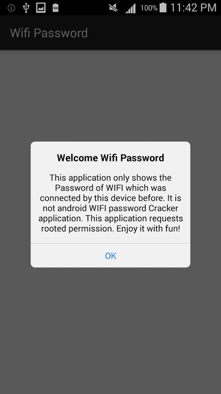 Wifi Password [Root] screenshot 2