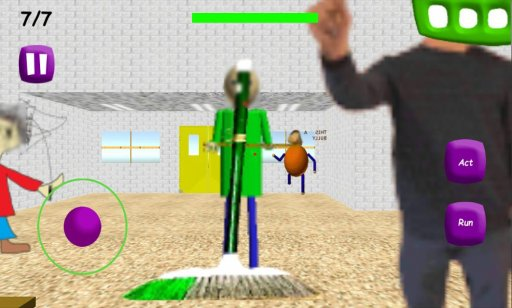 Baldi's Basics In Education and learning v3 screenshot 1