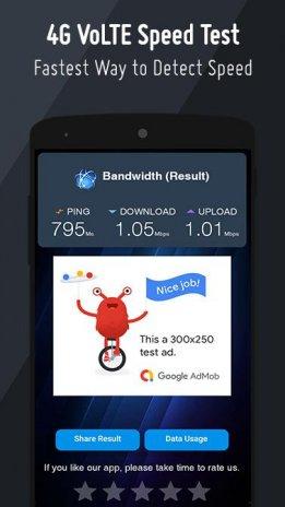 VoLTE Speed Test : 3G 4G Wifi SuperFast Meter 2 1 0 Download