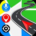 Navigazione GPS: mappe stradali guida indicazioni