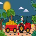 Hay Tractor Escape