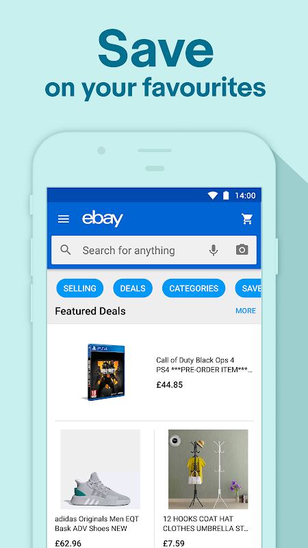 Spring Shopping Deals - Buy, Sell & Save with eBay screenshot 1