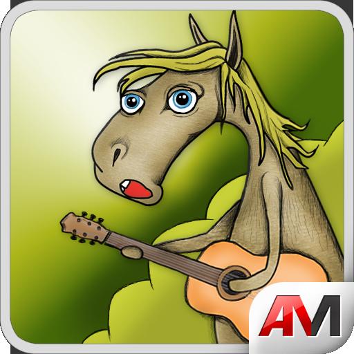 поющая лошадь открытка зуба разделяет