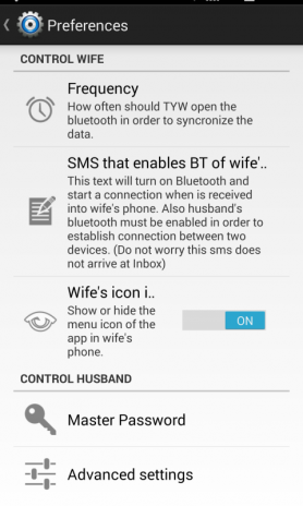 track your wife