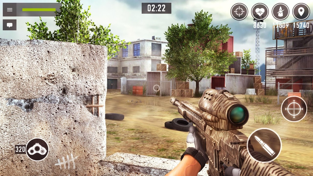 Sniper Arena: PvP Army Shooter screenshot 1