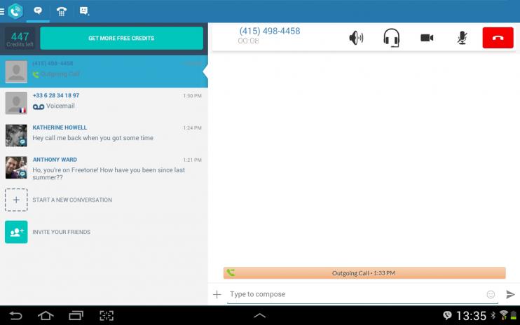 FreeTone Free Calls & Texting 3 18 2 Télécharger l'APK pour