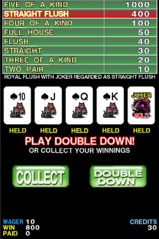 FEVER POKER FREE screenshot 1