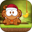 Cut The Banana: Free Monkey Rope Wrench Game