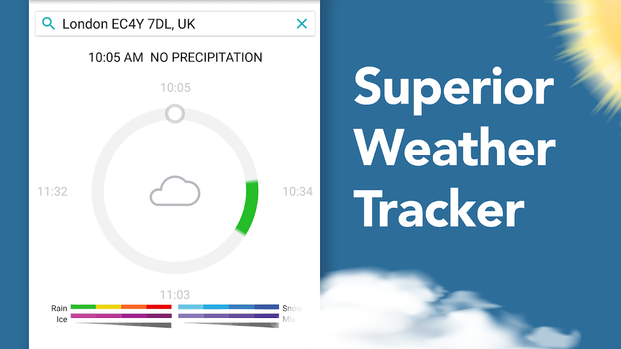 AccuWeather: Weather Radar & Live Rain Forecast screenshot 1