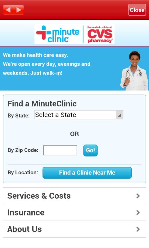 CVS/pharmacy screenshot 2