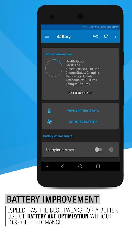 L Speed (Boost&Battery) [ROOT] screenshot 1