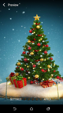 3d Christmas Live Wallpaper Screenshot 4