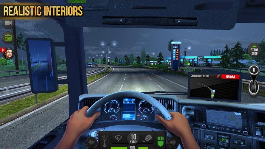 Camion Simulador 2018 : Europe screenshot 4