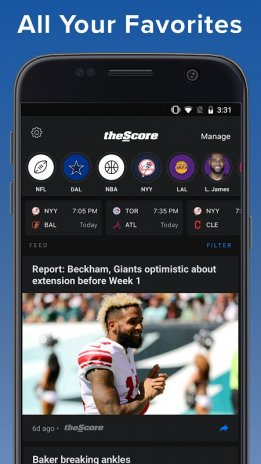 theScore: Sports & Scores 3 20 2-B Download APK for Android