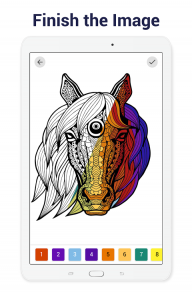 Paint by Numbers: New Colouring Pictures Book Free screenshot 12