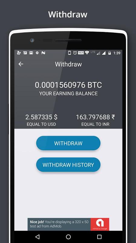 Bitcoin Miner - Earn Free BTC screenshot 2