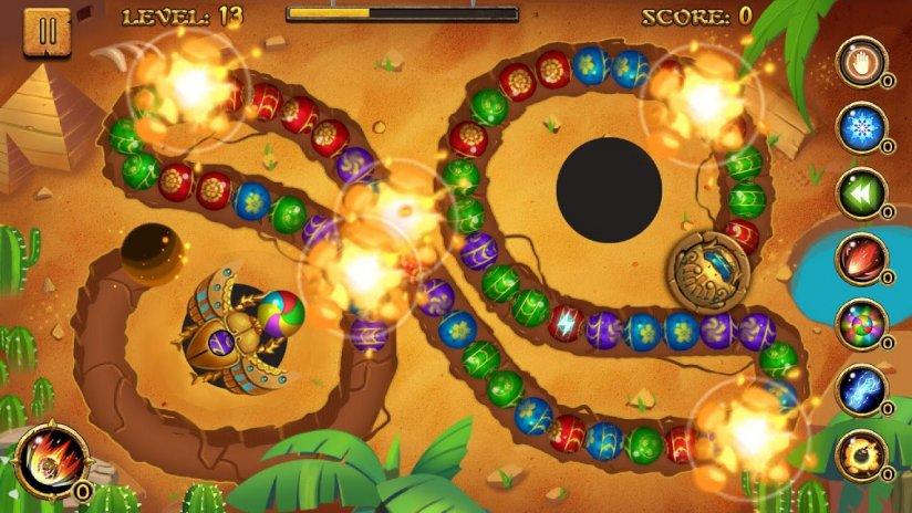 ... jungle marble blast screenshot 5