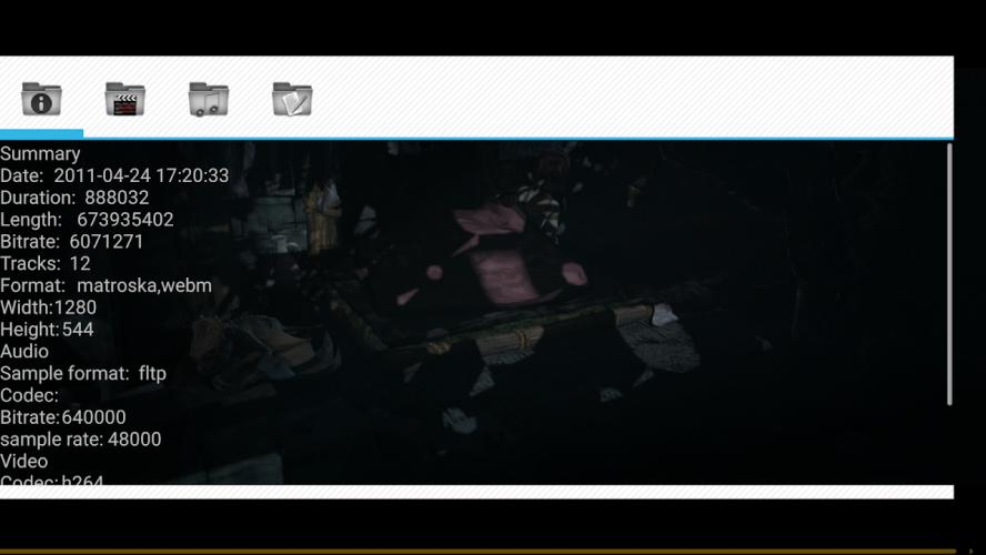 Wuffy Media Player screenshot 3