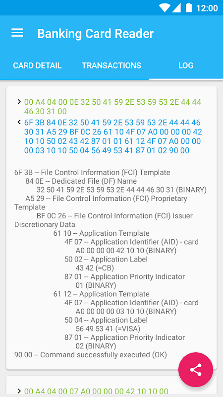application paycardreader