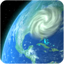 Wind Map 🌪 Hurricane Tracker (3D Globe & Alerts)