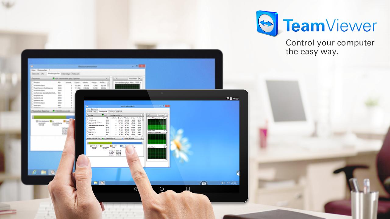 TeamViewer para Remote Control screenshot 1