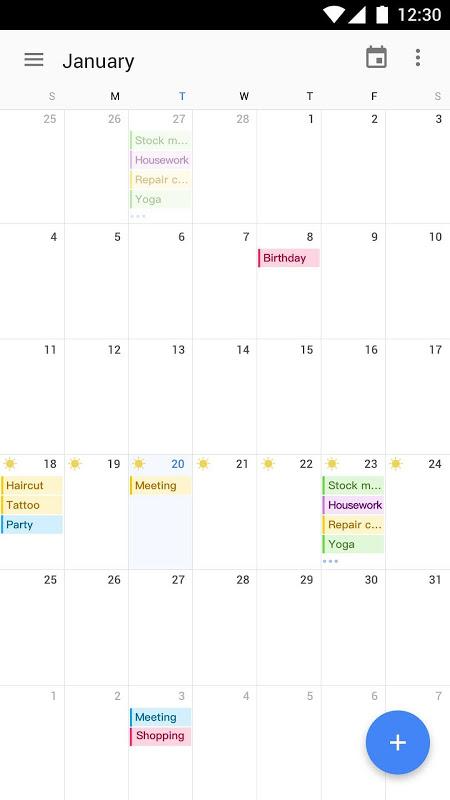 Calendar 2019 : Schedule Reminder, Agenda, To-Do screenshot 1