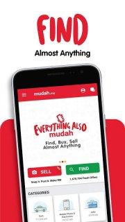 Mudah.my - Find, Buy, Sell Preloved Items screenshot 1