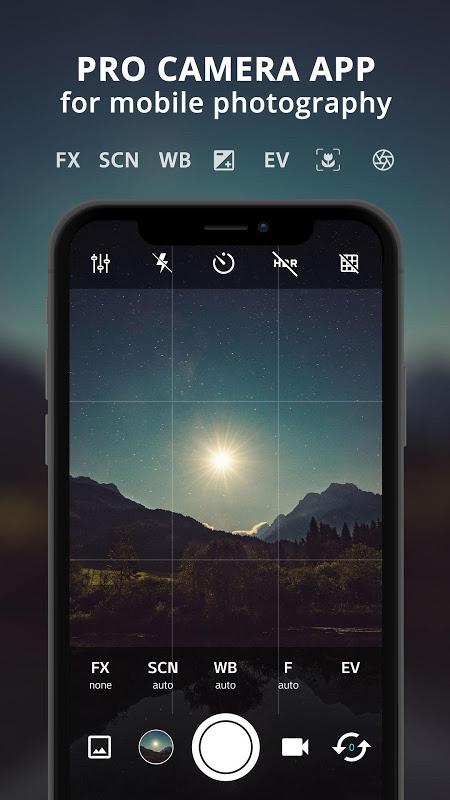 HD Câmera Pro : Best Professional Camera App screenshot 1