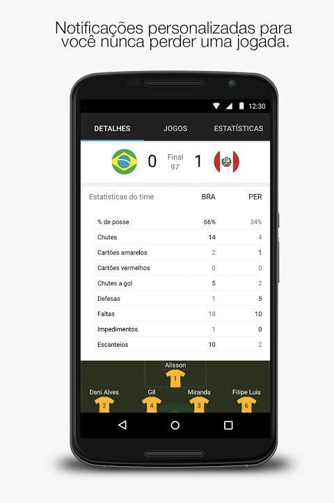 Yahoo Esportes screenshot 1