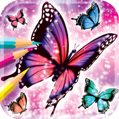 Kelebek Boyama Kitabı 12 Android Aptoide Için Apk Indir
