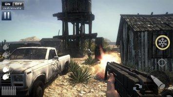 Zombie Shooter : Fury of War Screen