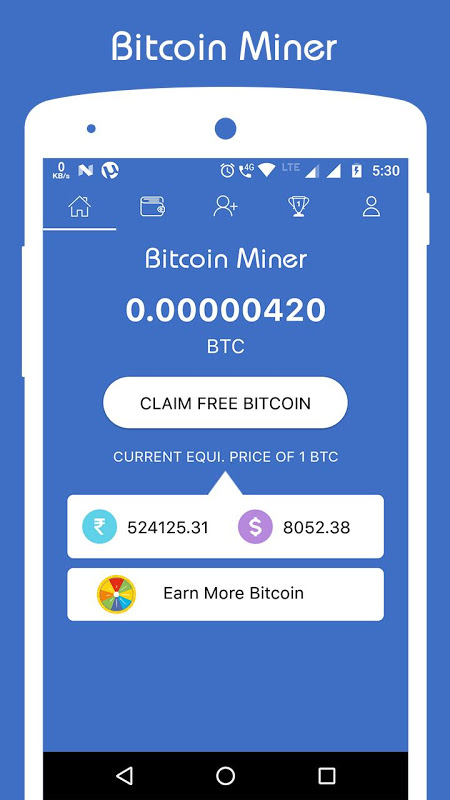 Free Bitcoin Miner - Earn BTC 2 3 Download APK para Android