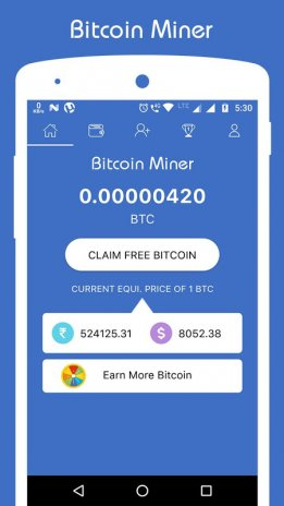 Parsisiųsti Free Bitcoin Miner Android: New Mobile App.
