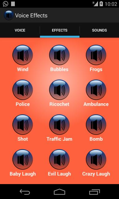 voice effect download apk for android aptoide. Black Bedroom Furniture Sets. Home Design Ideas
