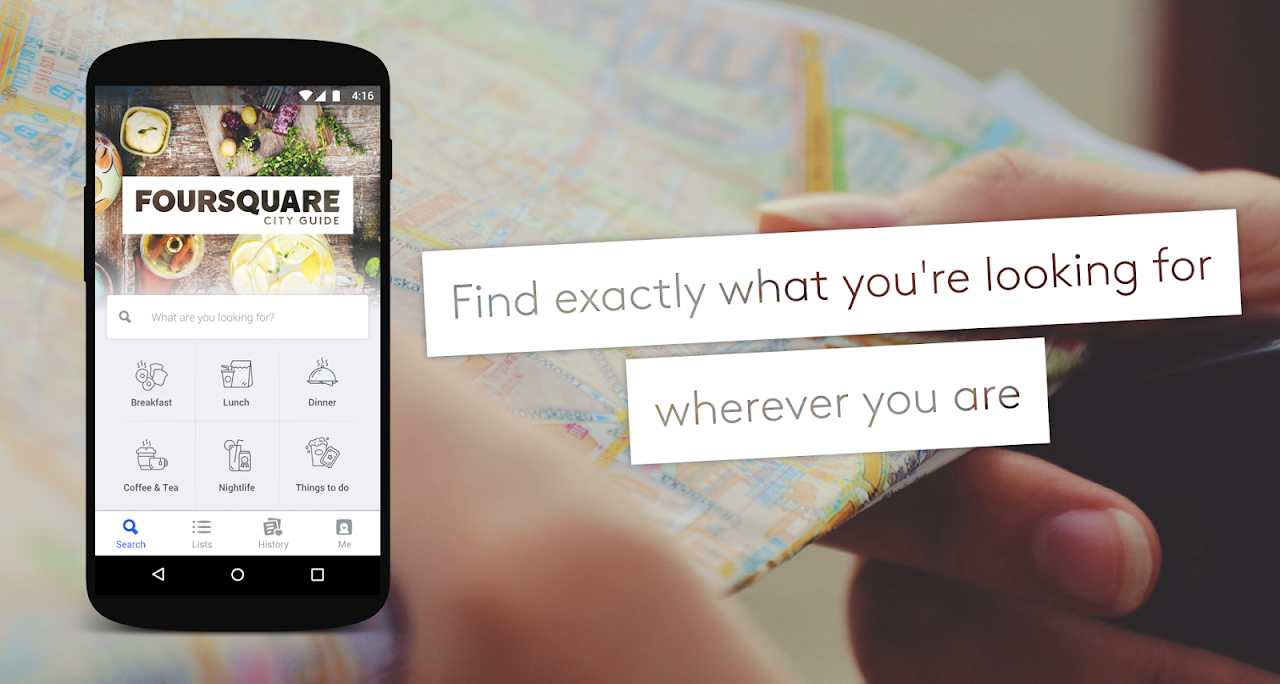 Foursquare City Guide screenshot 1