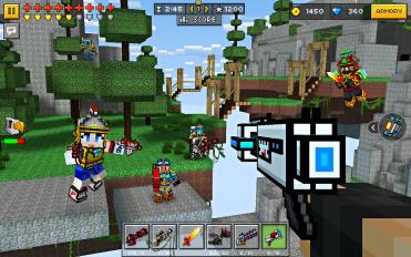 pixel gun 3d pocket edition screenshot 5