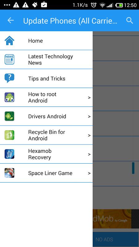 Actualizar Telefono (Todas las operadoras) screenshot 1