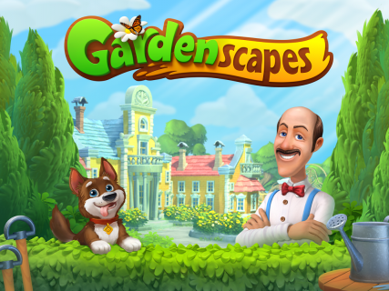 Gardenscapes screenshot 3