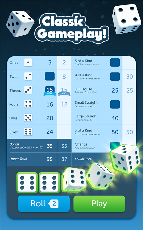Dice with Buddies screenshot 1