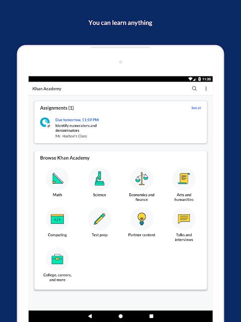Khan Academy: Free Learning App screenshot 2