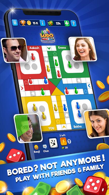Ludo Club - Jogo Divertido de Dados screenshot 1