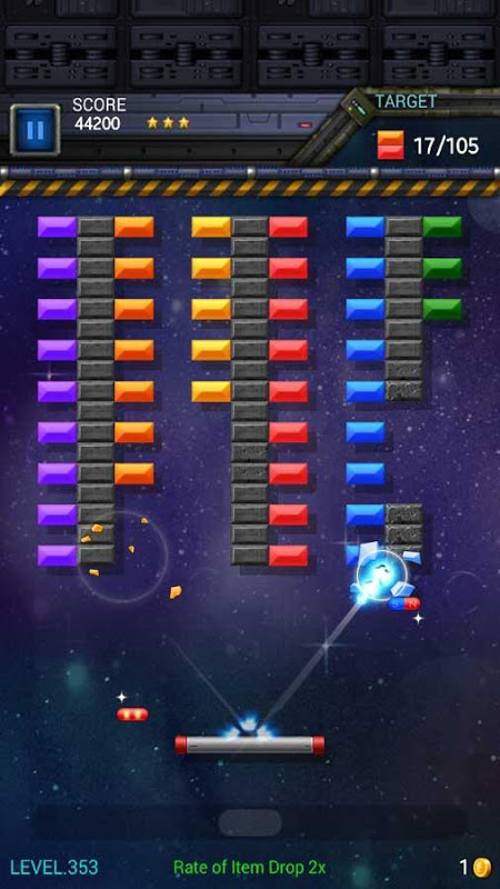 Brick Breaker Star: Space King screenshot 1