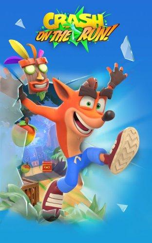 Crash Bandicoot: On the Run! screenshot 1