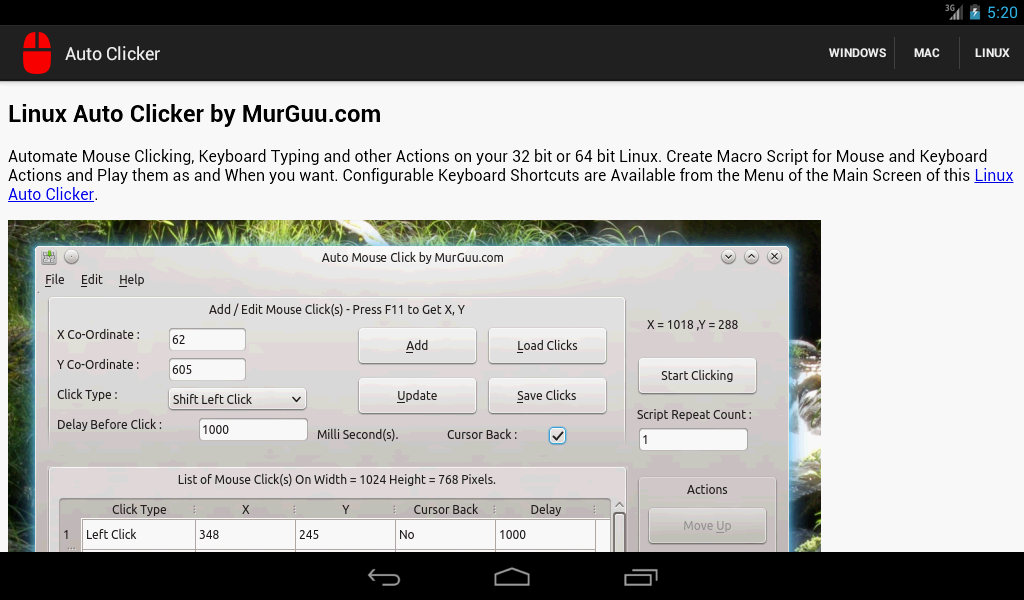 FREE Auto Clicker for Android!  Hiromacro Setup and