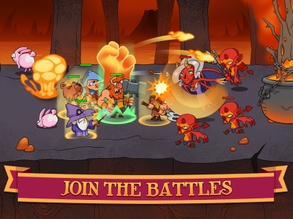 Semi Heroes: Idle RPG (Unreleased) screenshot 7