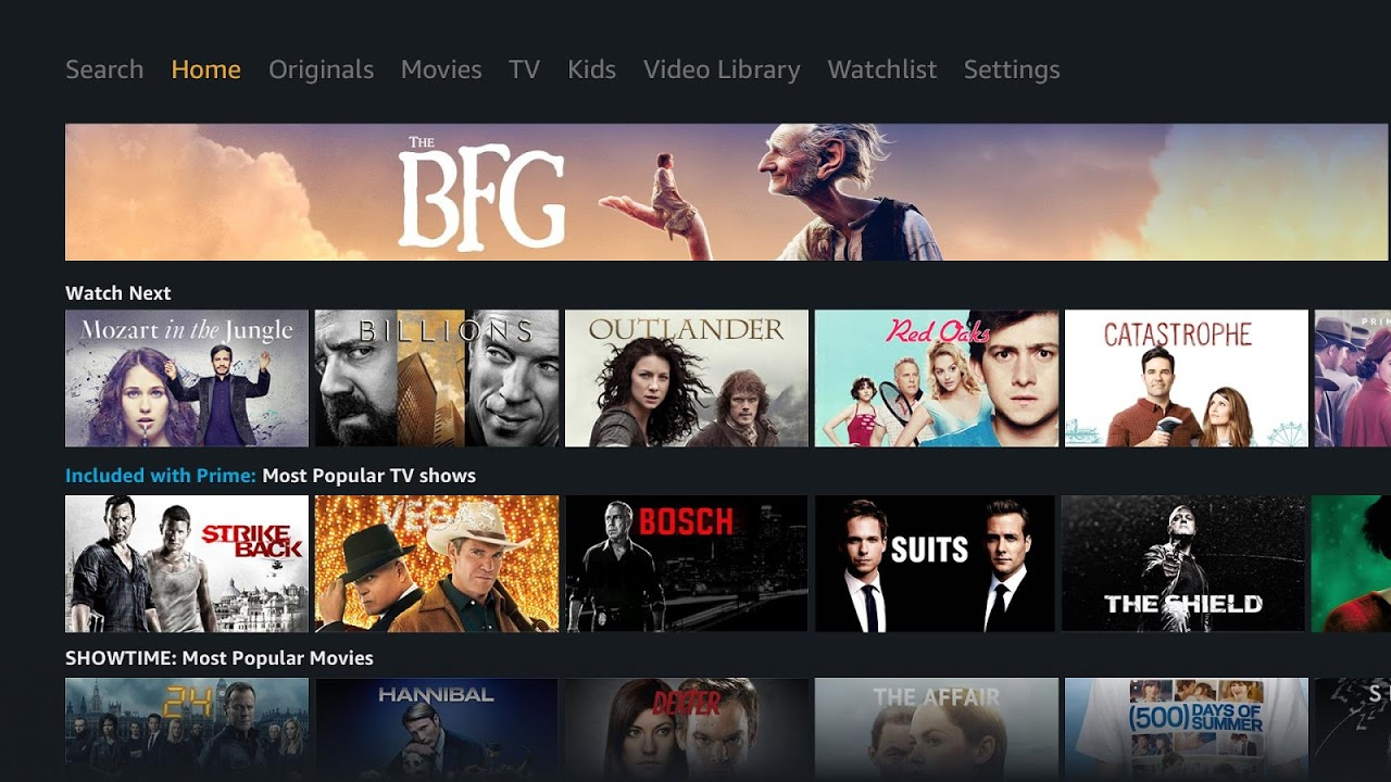 Prime Video - Android TV screenshot 1