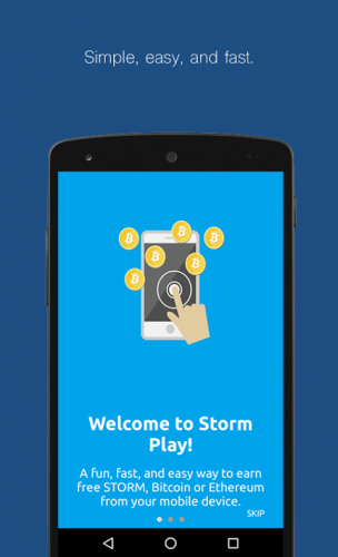 storm wallet cryptocurrency